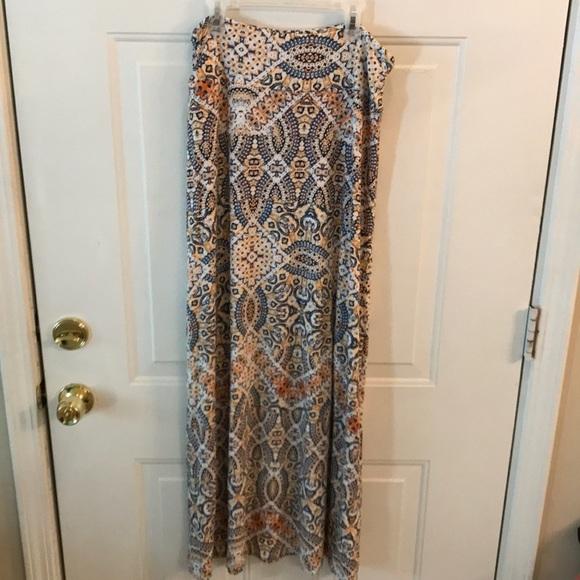 Artisan Ny Dresses & Skirts - Artisan NY Womens Multicolored Patterned Skirt